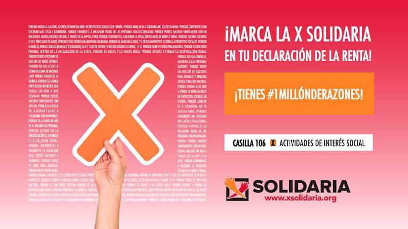 Las ONG de Acción Social confían en un nuevo récord de recaudación con la 'X Solidaria' - Escuchar ahora