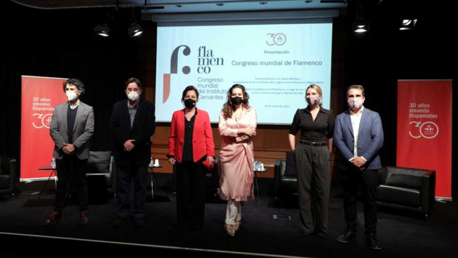 Punto de enlace - El Instituto Cervantes organiza el Congreso Mundial del Flamenco - 07/04/21 - escuchar ahora