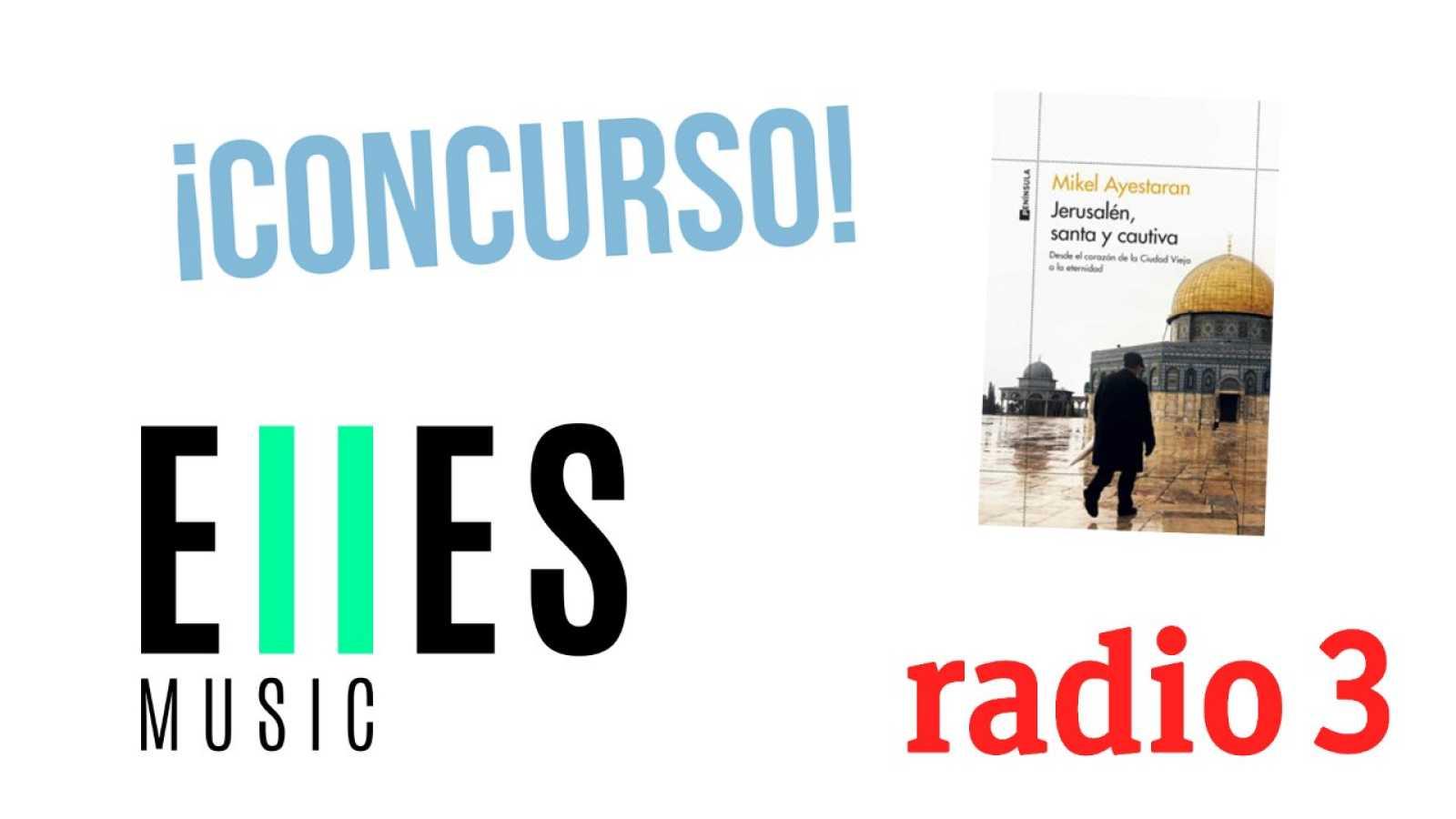 Hoy empieza todo con Ángel Carmona - El Concurso de las Series, Jerusalén, Santa y Cautiva y ELLESMusic - 08/04/21 - escuchar ahora
