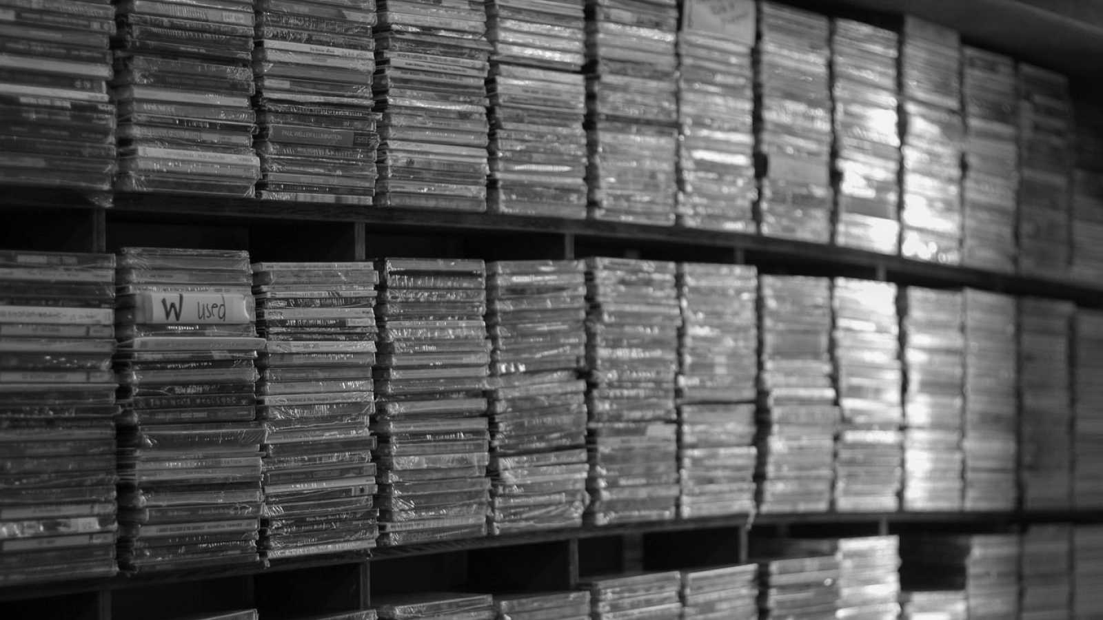 Relato sobre discos y soportes musicales - escuchar ahora