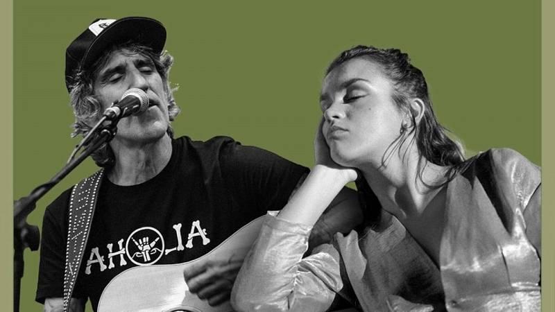 180 grados - Mikel Erentxun con Amaia y 'Esos Ojos Negros' - 08/04/21 - escuchar ahora