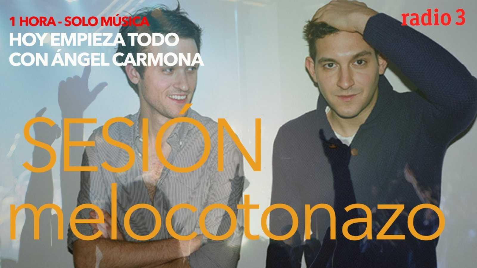 Hoy empieza todo con Ángel Carmona - #SesiónMelocotonazo: My Chemical Romance, Holy Ghost!, Lisasinson... - 09/04/21 - escuchar ahora