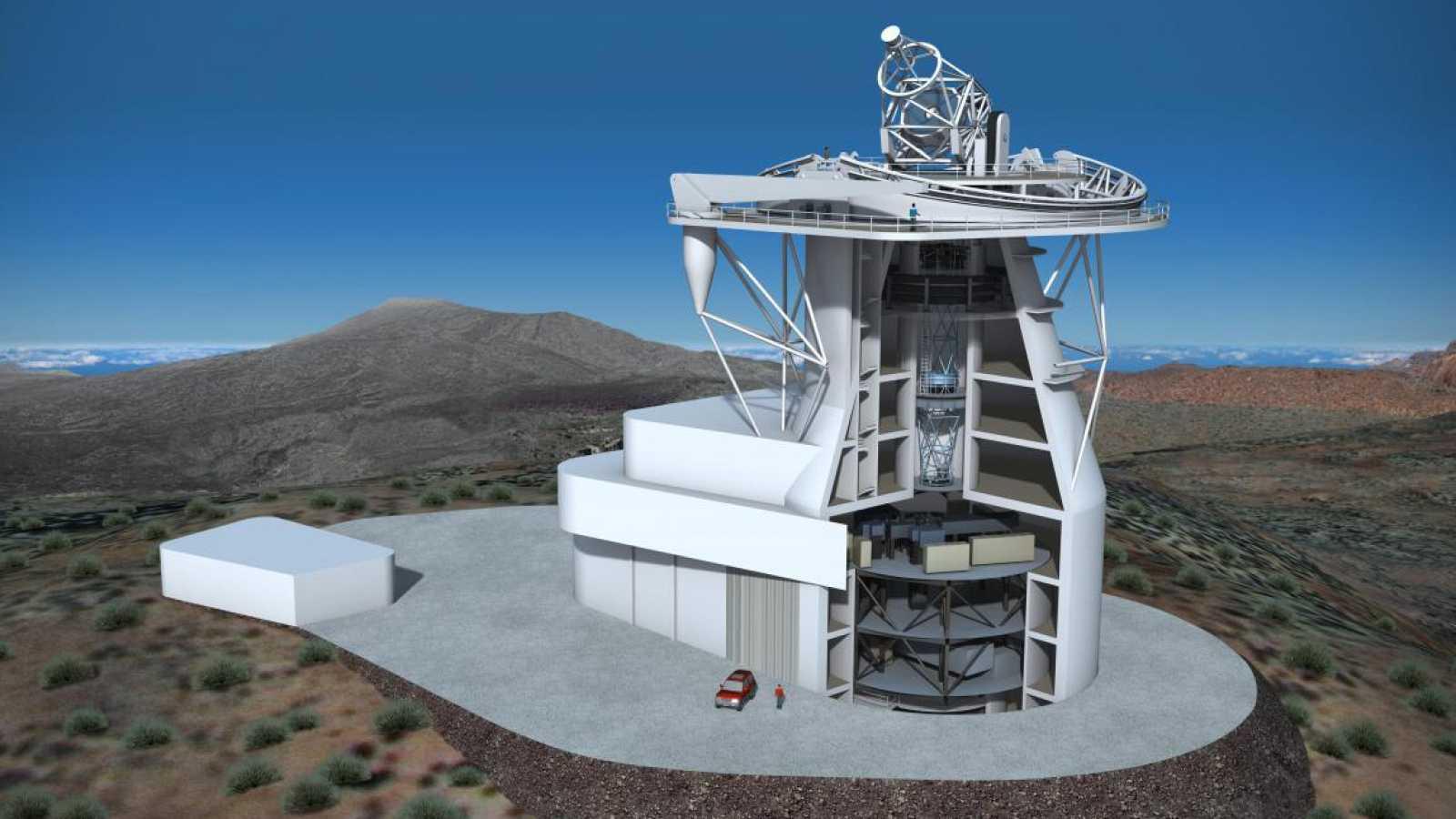 A golpe de bit - El gran telescopio solar europeo llevará tecnología española y se instalará en Canarias - 09/04/21 - escuchar ahora