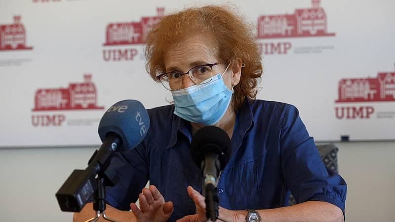 """24 horas - Margarita del Val, CSIC: """"El riesgo es mínimo con AstraZeneca, habría que poner la segunda dosis"""" - Escuchar ahora"""