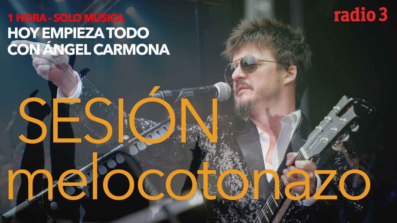 Hoy empieza todo con Ángel Carmona - #SesiónMelocotonazo: Saint Etienne, Coque Malla, Damien Jurado... - 12/04/21 - escuchar ahora