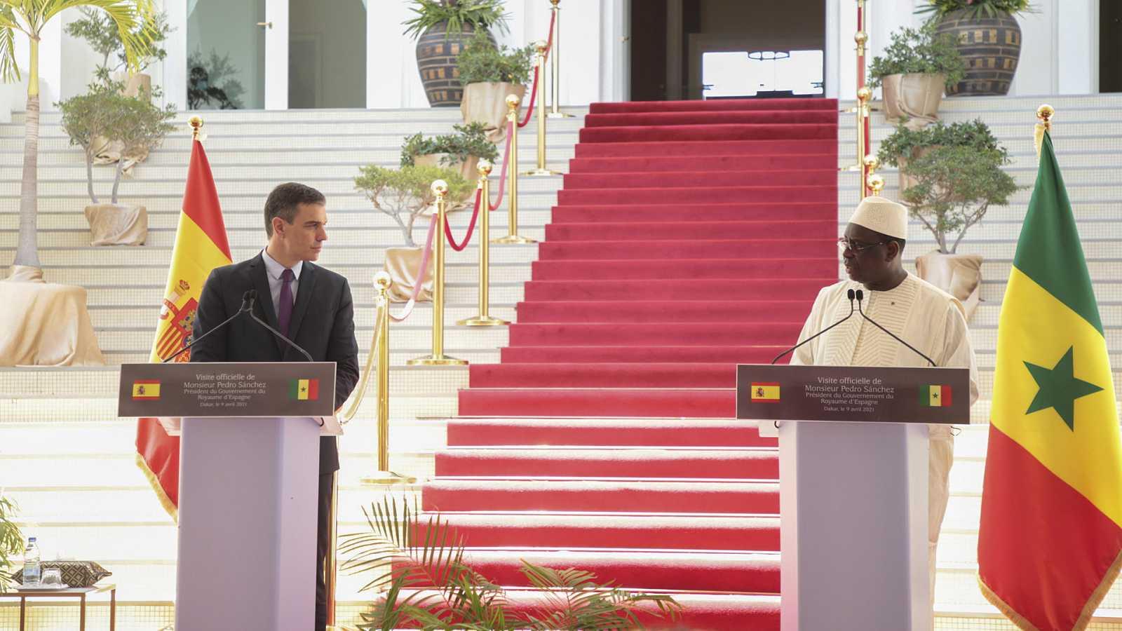 English Language Broadcast - PM Pedro Sánchez in Angola and Senegal - 10/04/21 - escuchar ahora