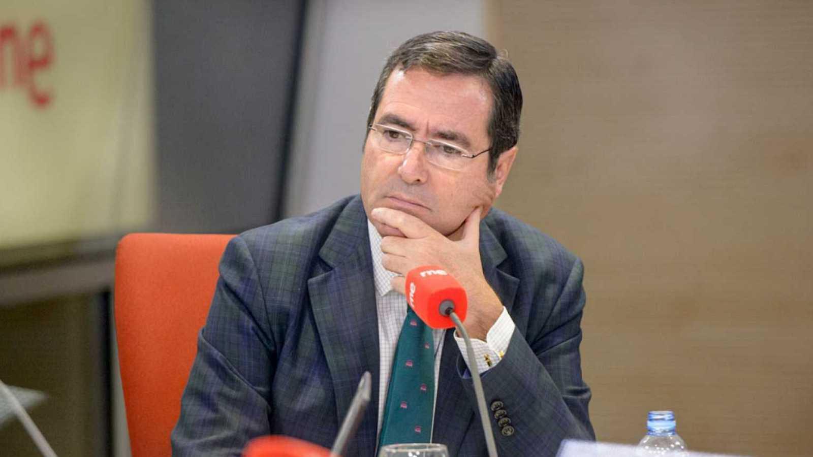 """24 horas - Garamendi, CEOE: """"Si el objetivo es que la gente se jubile a los 68 años que nos los digan ya"""" - Escuchar ahora"""