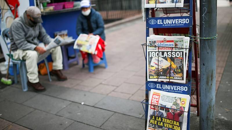 Cinco continentes - Lasso, presidente electo de Ecuador - Escuchar ahora