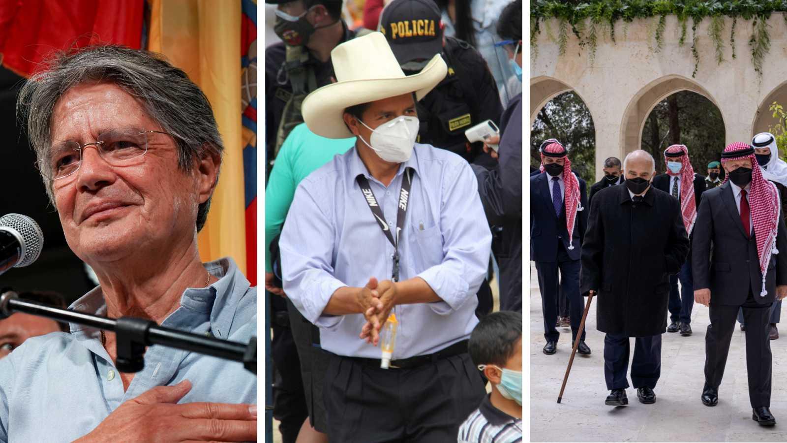 Cinco continentes - Cambio de rumbo político en Ecuador - Escuchar ahora