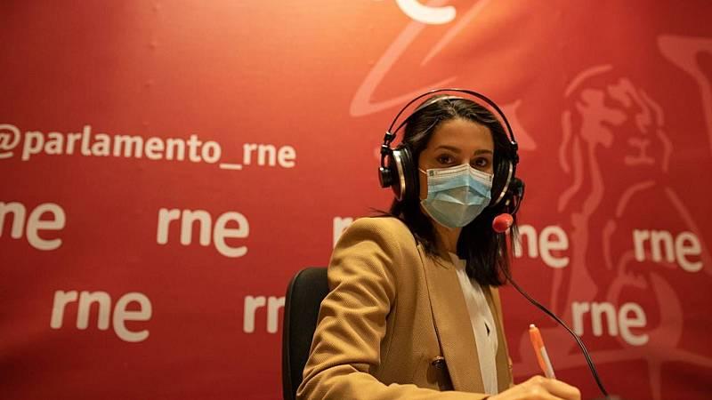"""Las mañanas de RNE con Íñigo Alfonso - Inés Arrimadas, C's: """"Casado y yo nunca hemos hablado de cargos. Aunque me lo hubiera dicho, Ciudadanos no está en venta"""" - Escuchar ahora"""