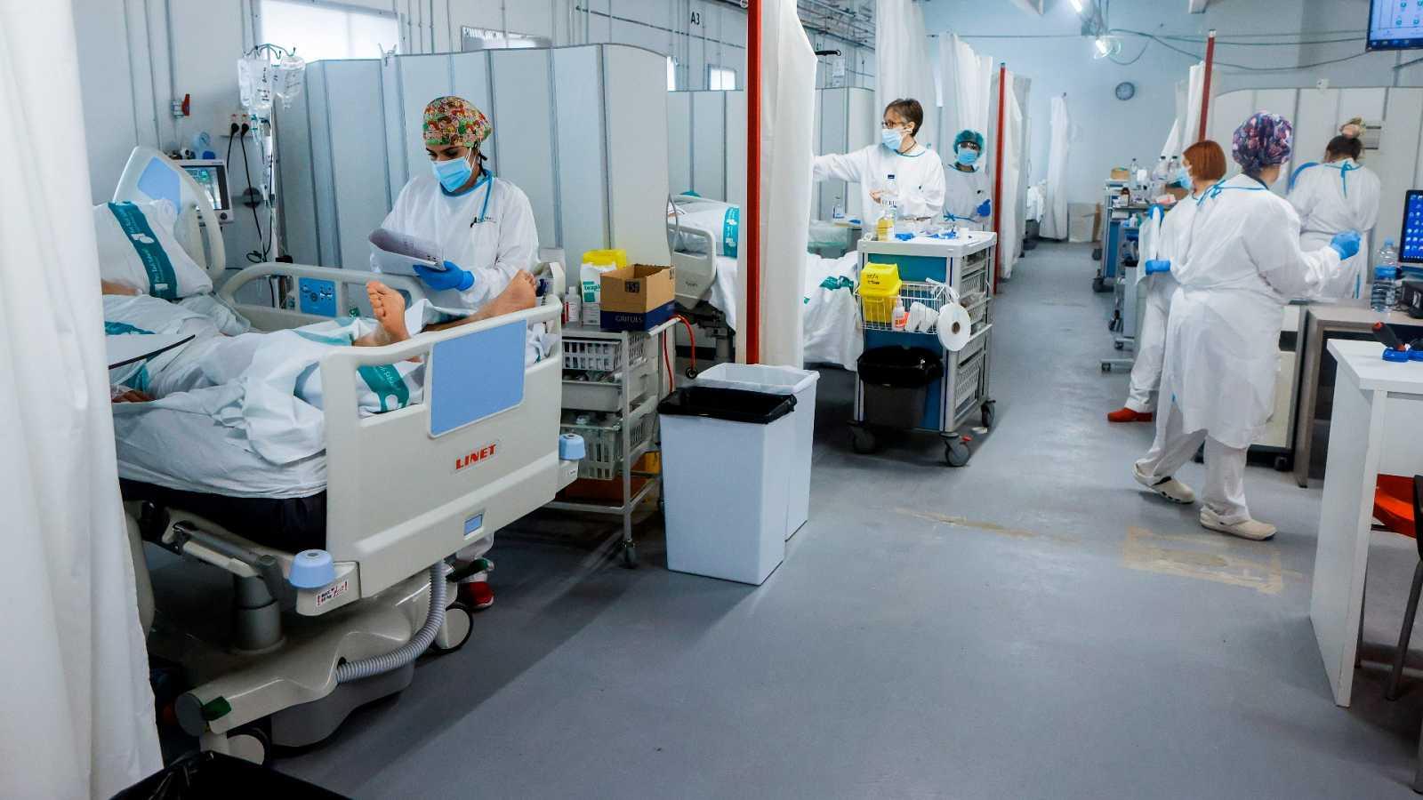 14 horas - ¿Es posible reducir los contagios sin estado de alarma? - Escuchar ahora