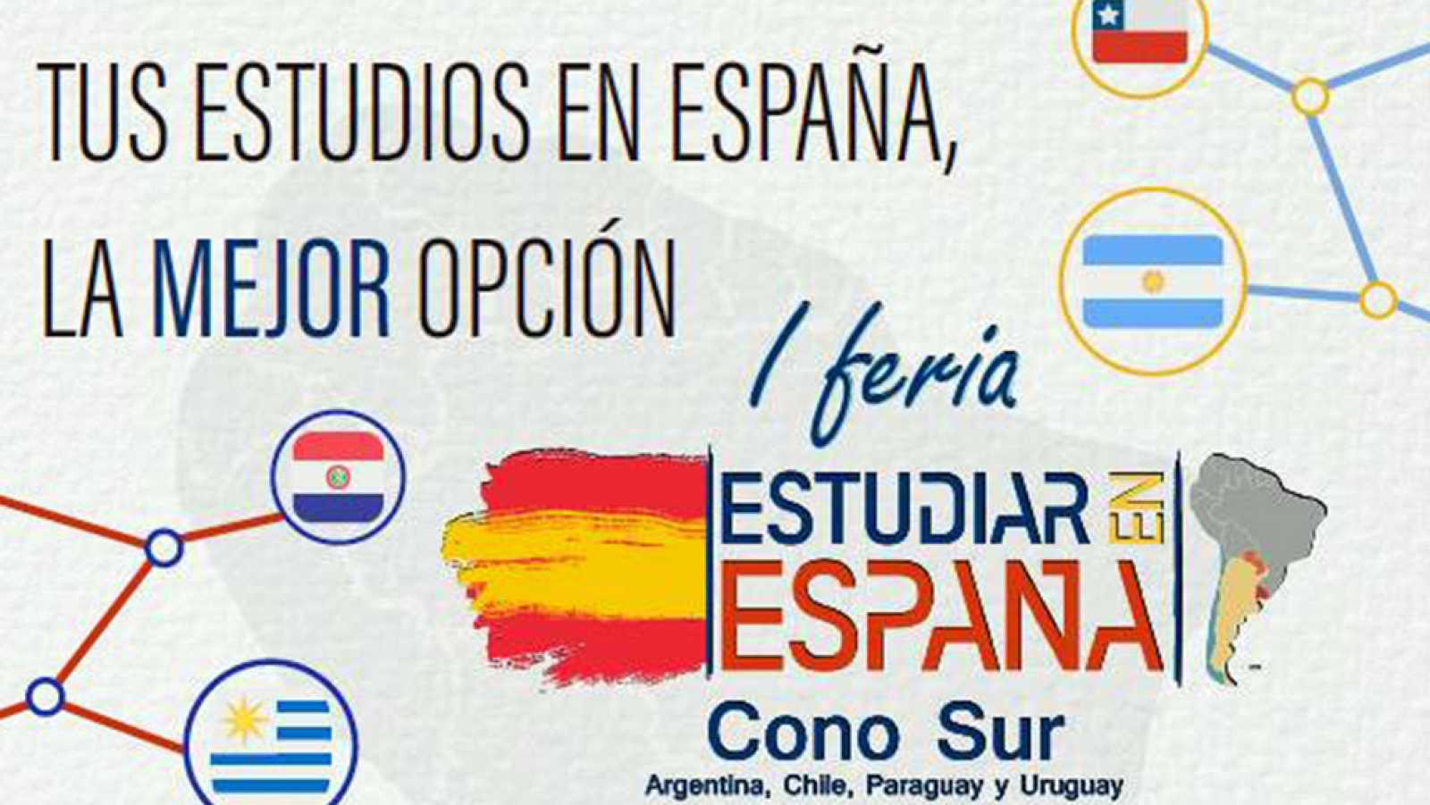 Hora América - Feria virtual Estudiar en España para los países del Cono Sur - escuchar ahora
