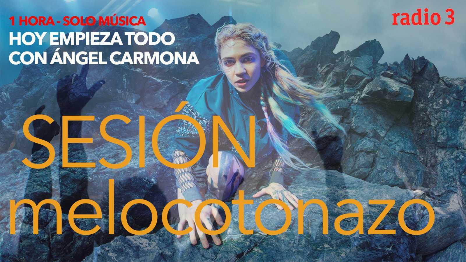 Hoy empieza todo con Ángel Carmona - #SesiónMelocotonazo: Arcade Fire, Grimes, Bjork... - 14/04/21 - escuchar ahora