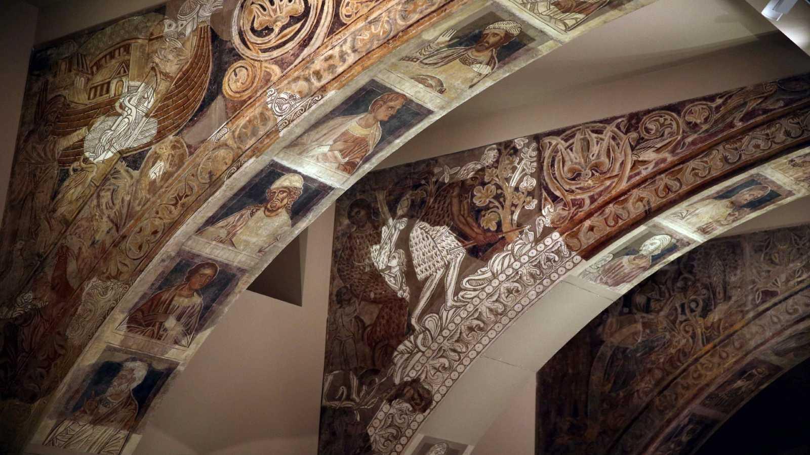 Reportajes Emisoras - Huesca - Reintegración de las pinturas murales del Monasterio de Sijena - 14/04/21 - Escuchar ahora