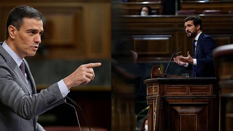 14 horas - El pleno del Congreso, un ensayo de la campaña madrileña - Escuchar ahora
