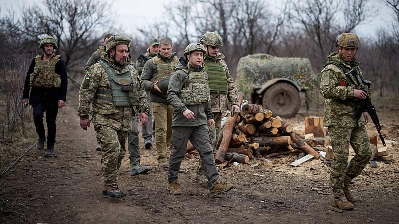 Cinco continentes - Tensión creciente con Rusia por Ucrania - Escuchar ahora