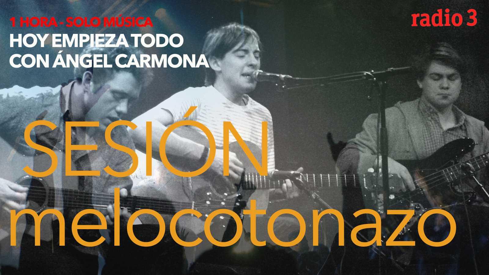 Hoy empieza todo con Ángel Carmona - #SesiónMelocotonazo: Bombay Bicycle Club, Foals, Pink... - 15/04/21 - escuchar ahora