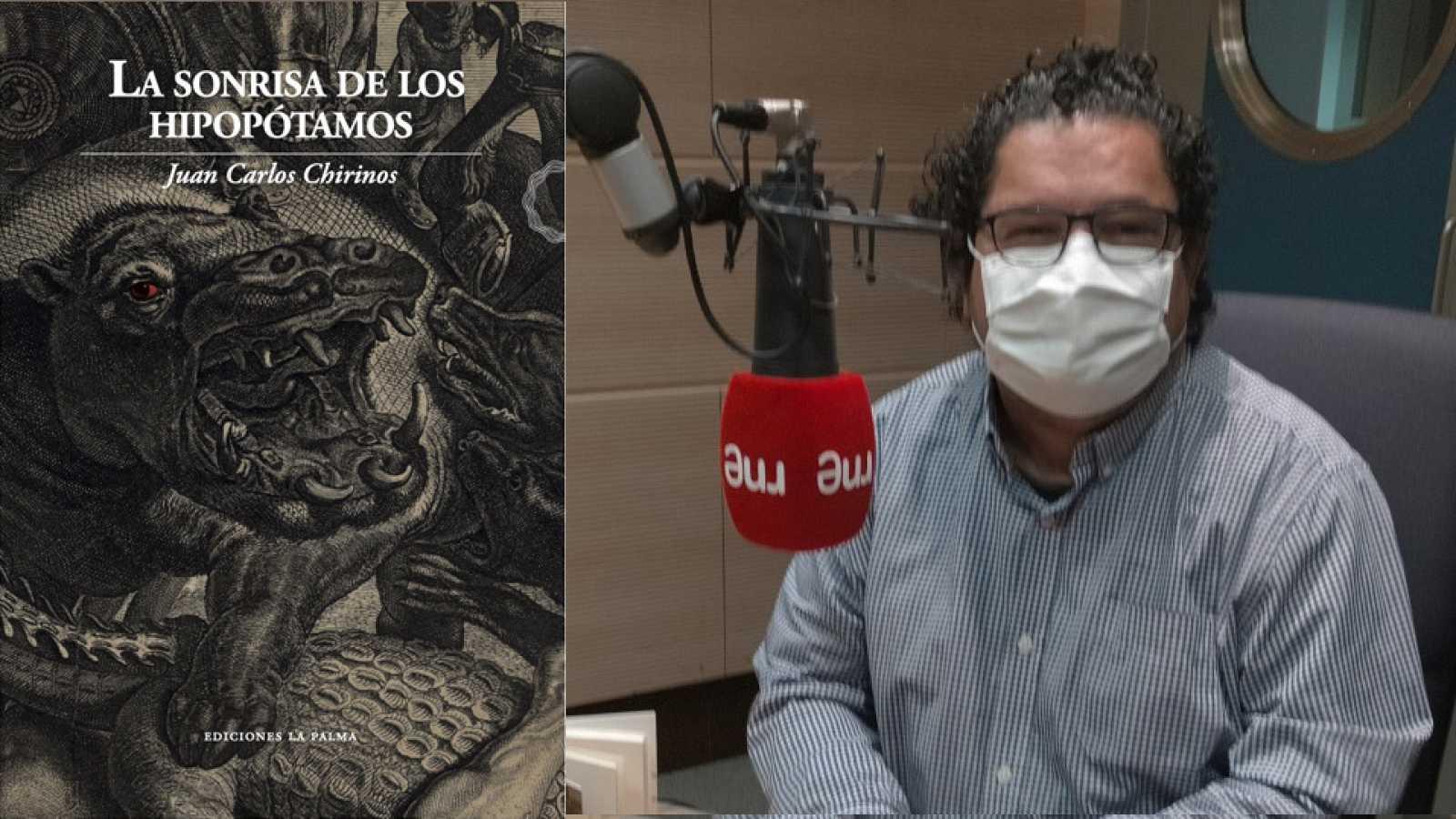 Hora América - Juan Carlos Chirinos presenta 'La sonrisa de los hipopótamos', su último libro de relatos - escuchar ahora