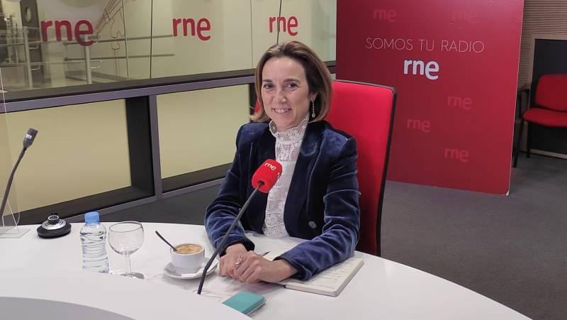 """Las mañanas de RNE con Íñigo Alfonso - Cuca Gamarra (PP): """"Sánchez desaparece de la pandemia salvo que haya una campaña electoral"""" - Escuchar ahora"""