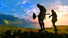 """A hombros de gigantes - Neandertales y sapiens, una historia de mestizaje; maltrato animal; COVID 19 y lenguaje; agujero de ozono; avances médicos en la Gran Guerra; """"Arte y ciencia del s. XXI"""" en el MNCN - 18/04/21"""