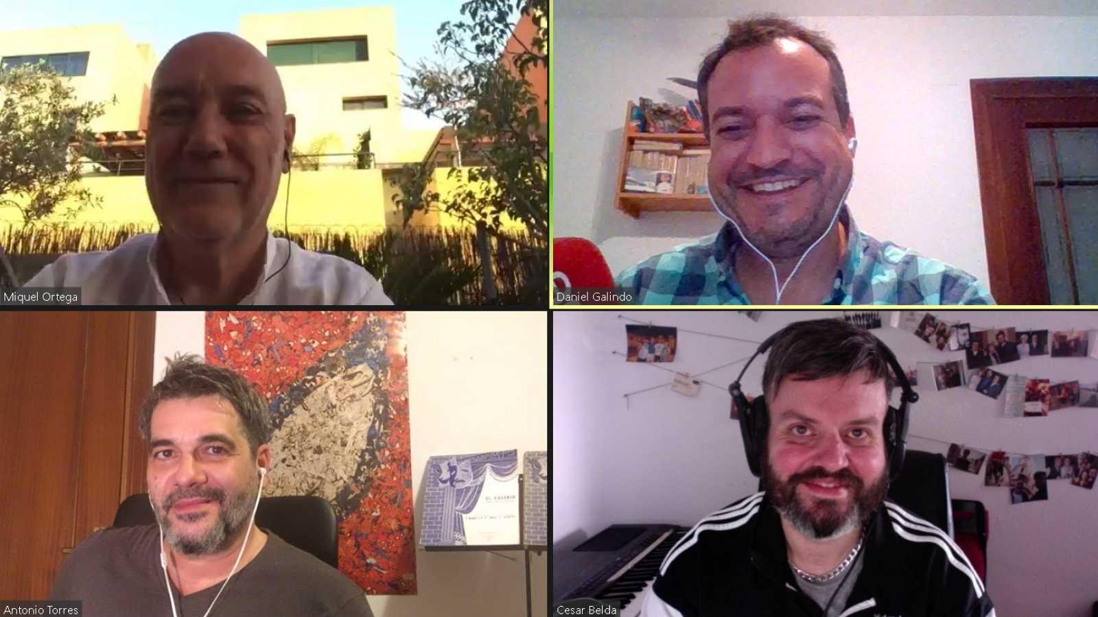 La sala - No sólo género chico, con Antonio Torres: César Belda y Miquel Ortega - 15/04/21 - Escuchar ahora