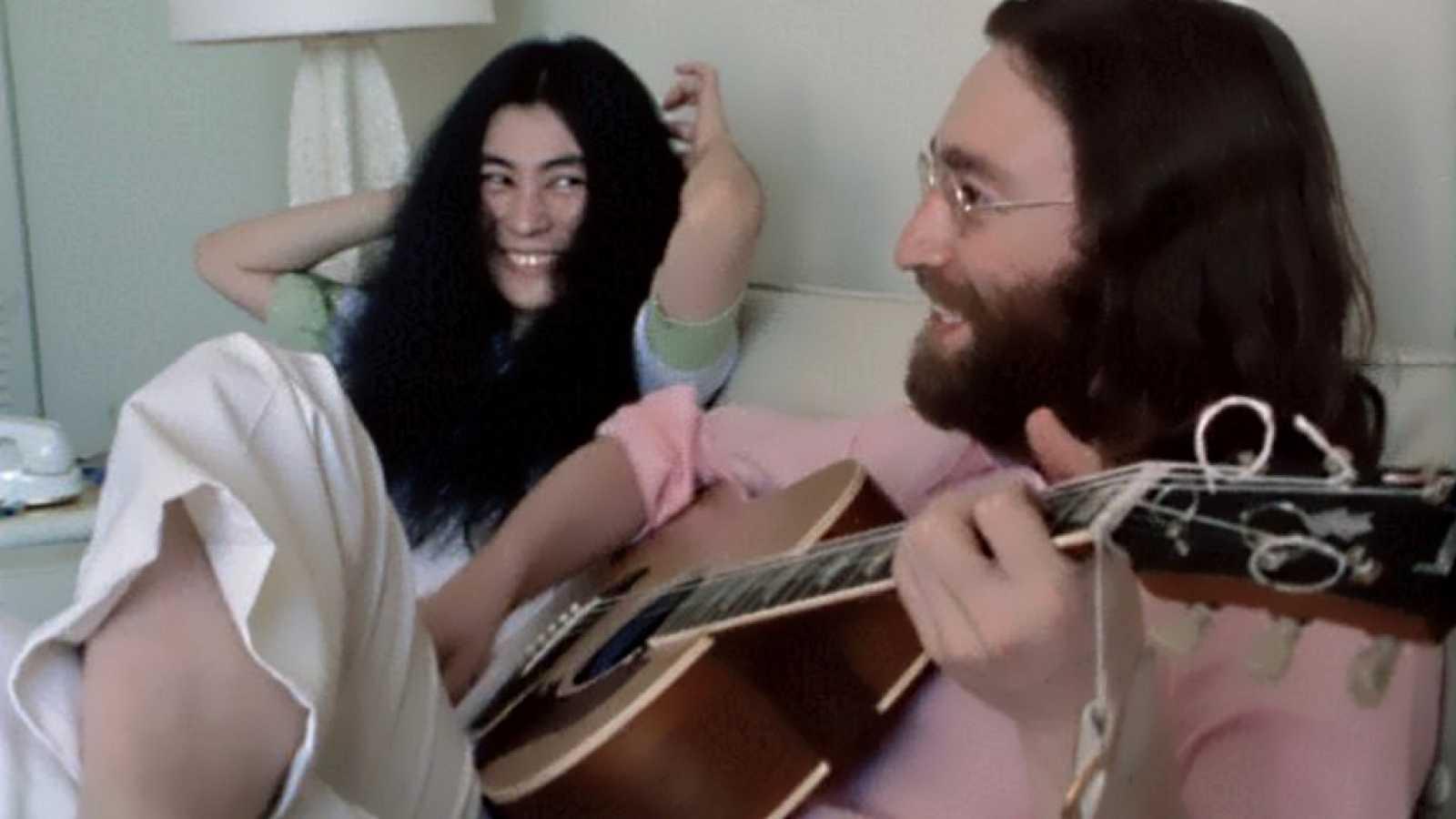 Disco Grande - John y Yoko, ensayo para la paz y No Picky con colmillos - 15/04/21 - escuchar ahora