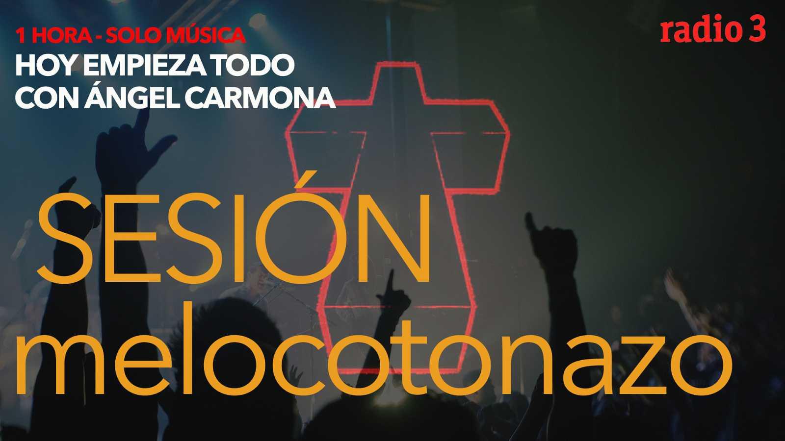 Hoy empieza todo con Ángel Carmona - #SesiónMelocotonazo: Justice, Midnight oil, Julien Baker... - 16/04/21 - escuchar ahora