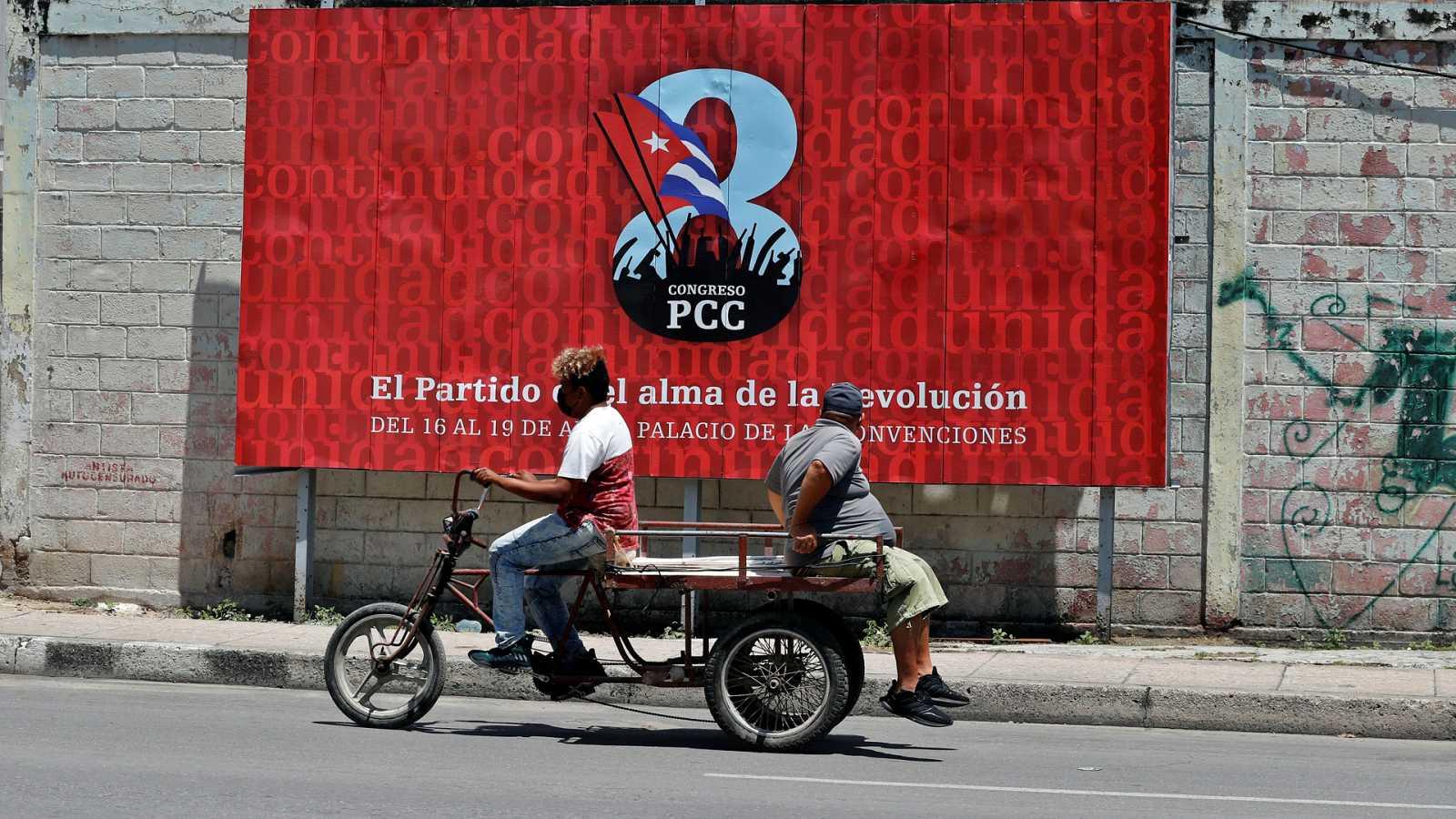 Hora América - VIII Congreso del Partido Comunista de Cuba: el relevo de Raúl Castro - 15/04/21 - Escuchar ahora