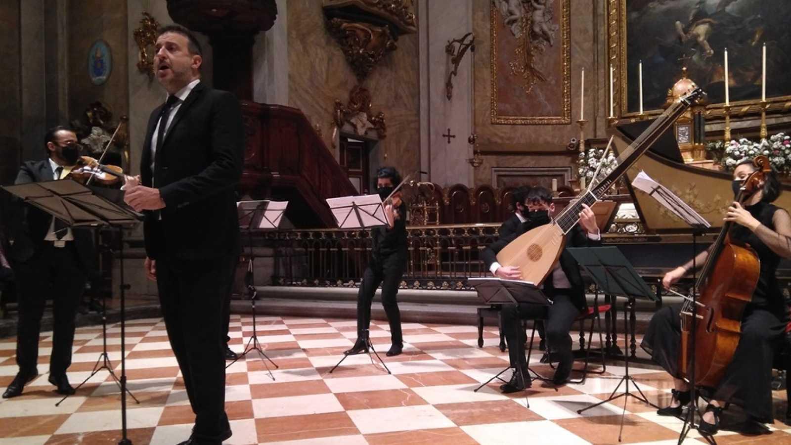 Carlos Mena y Danel Pinteño - 'Concerto 1700' - escuchar ahora
