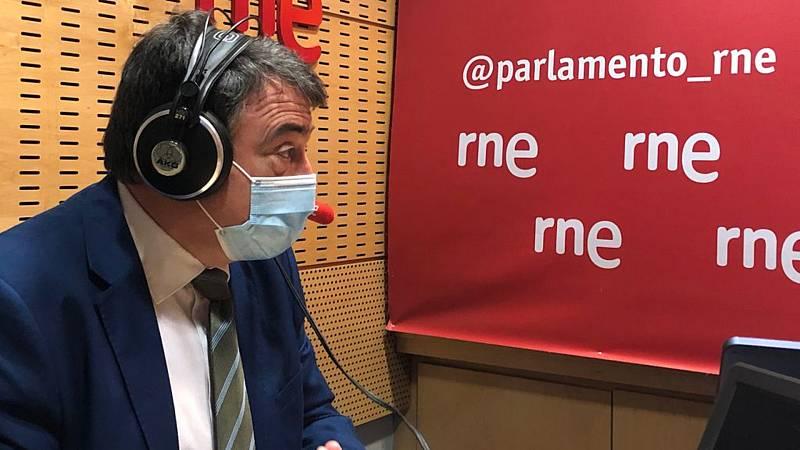 """Parlamento - Radio 5 - Esteban (PNV) confía en que se prorrogue el estado de alarma más allá del 9 de mayo: """"Estamos en una cuarta ola en ascenso con datos malos"""" - Escuchar ahora"""
