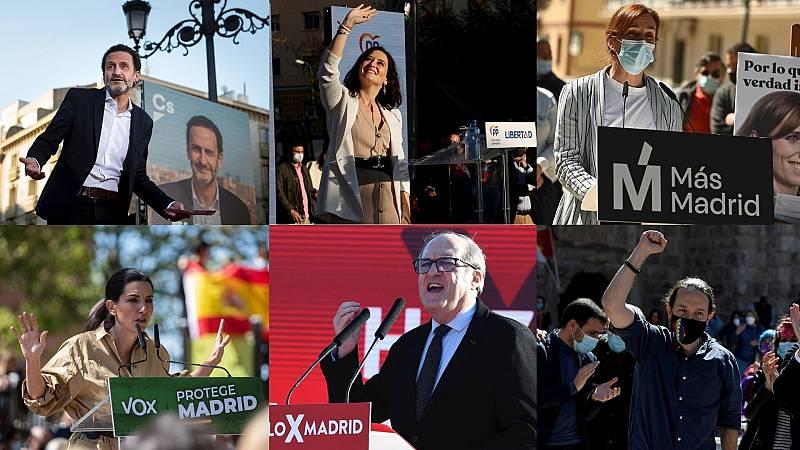 Especiales RNE - Madrid entra de lleno en campaña para unos comicios que pueden marcar la política nacional - Escuchar ahora