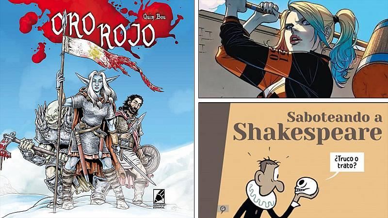 ¡Qué de cómics! - El 'Oro rojo' de Quim Bou, Max en 'El ojo crítico' y Harley Quinn - Escuchar ahora
