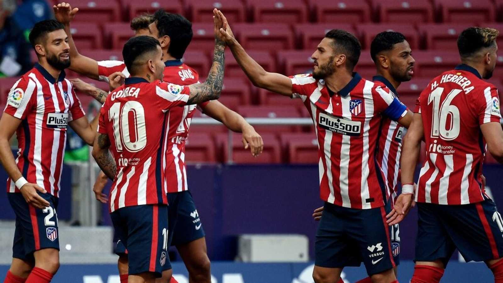 Tablero deportivo - El Atlético de Madrid golea y recupera la ventaja - Escuchar ahora