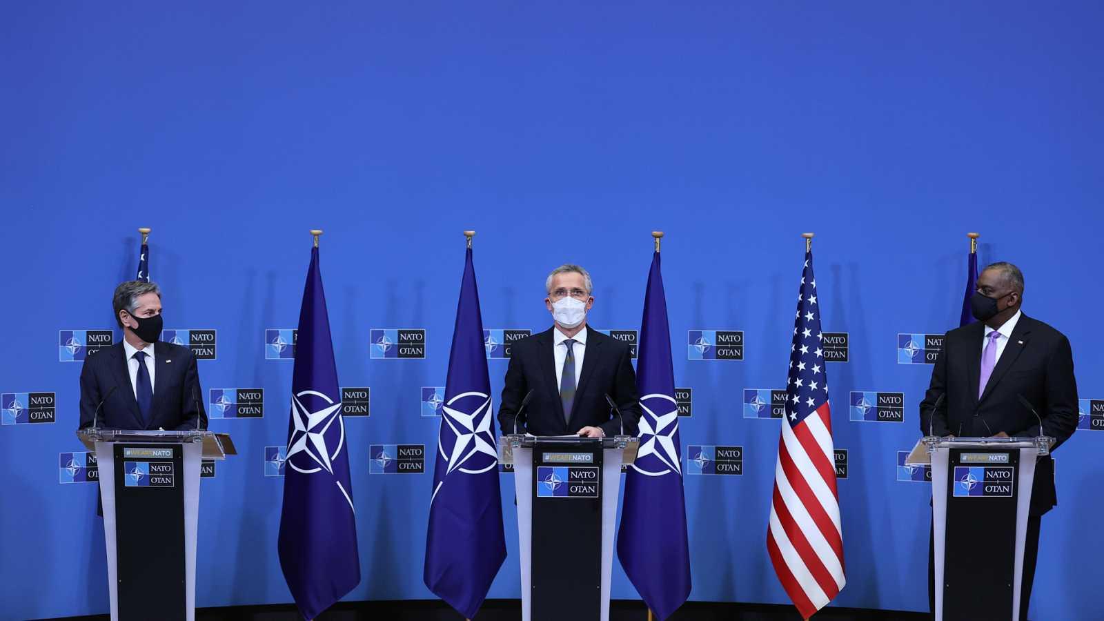 Asia hoy - EE. UU. coordina con la OTAN la retirada de tropas en Afganistán - 17/04/21 - escuchar ahora