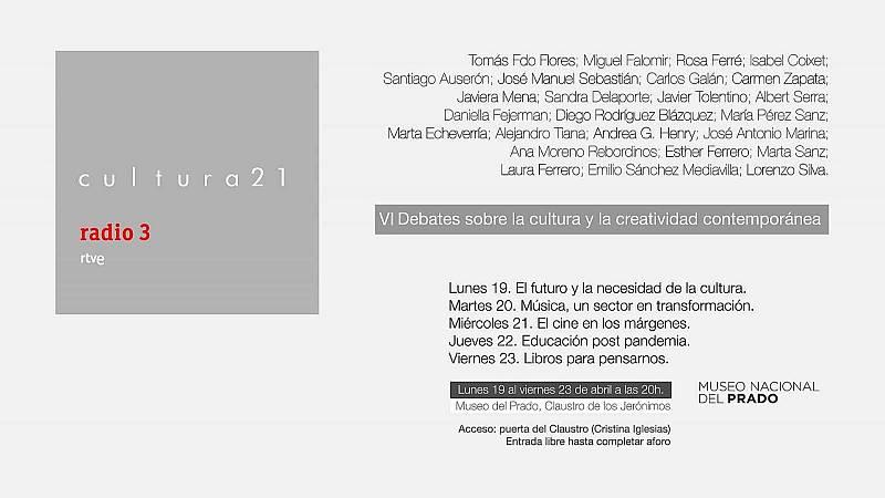 """Las mañanas de RNE con Íñigo Alfonso - Radio 3 organiza Cultura 21 en el Museo del Prado: """"Somos activistas de la cultura"""" - Escuchar ahora"""
