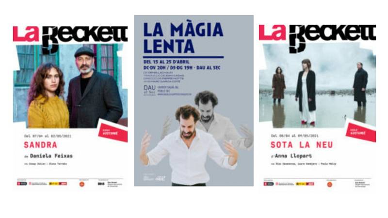 Wonderland - Teatre: 'Sota la neu', 'Sandra' i 'La màgia lenta'