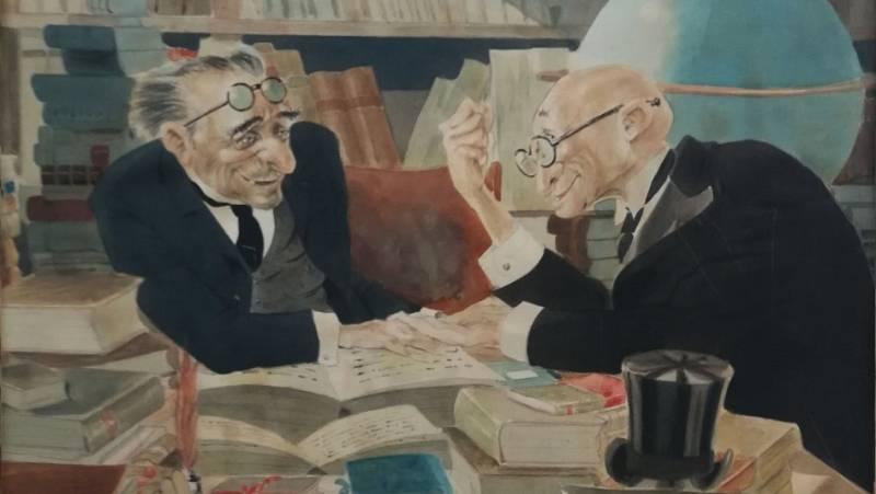 Artesfera - Ismael Cuesta, dibujante de la bohemia (1899-1982) - 19/04/21 - escuchar ahora