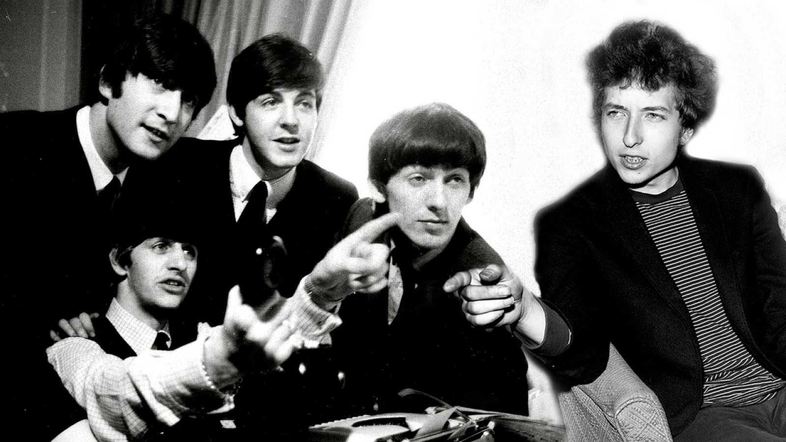 Disco grande - Encuentro Dylan-Beatles y Los Smiths con los Simpson - 19/04/21 - escuchar ahora