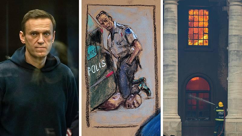 Cinco continentes - Trasladan a Navalny a un hospital - Escuchar ahora