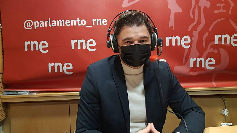 """Las mañanas de RNE con Íñigo Alfonso - Gabriel Rufián: """"Sería una falta de respeto excluir a Junts. No lo contemplamos"""" - Escuchar ahora"""