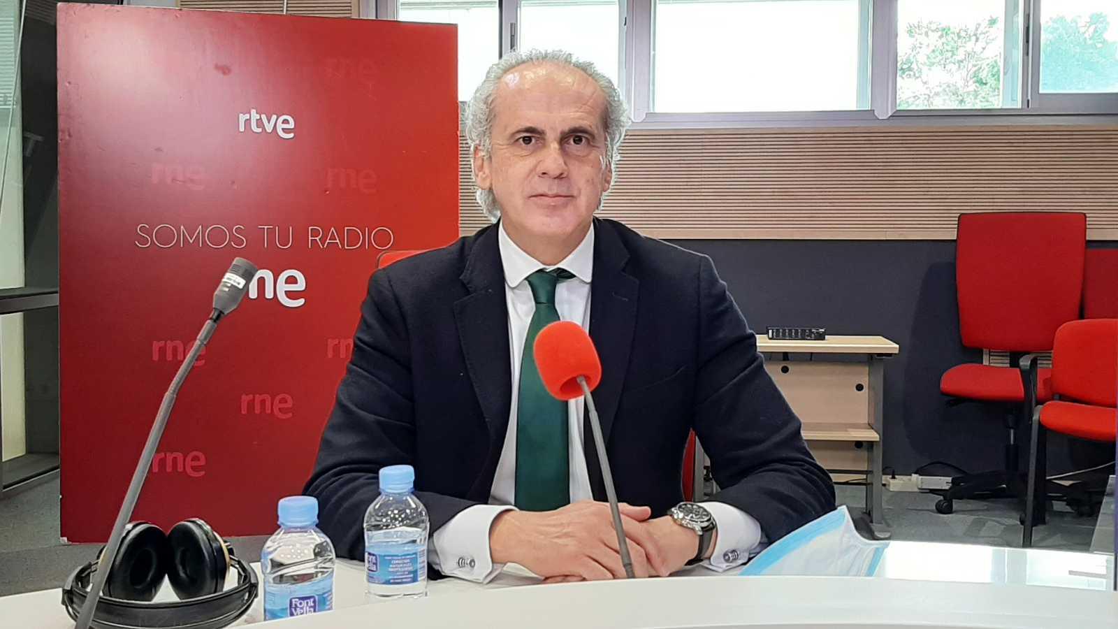 """Madrid Informativos - RNE - Enrique Ruiz Escudero, PP: """"Madrid ha conseguido crear entornos seguros"""""""