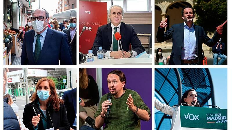 14 horas - La política fiscal central la campaña electoral en Madrid - Escuchar ahora