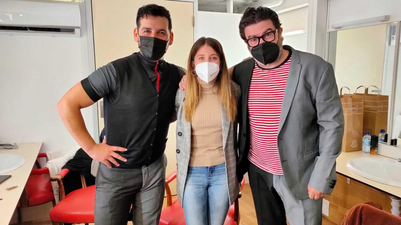 La sala - 'El ciclista utópico': En el camerino con Fran Perea y Fernando Soto - 20/04/21 - Escuchar ahora
