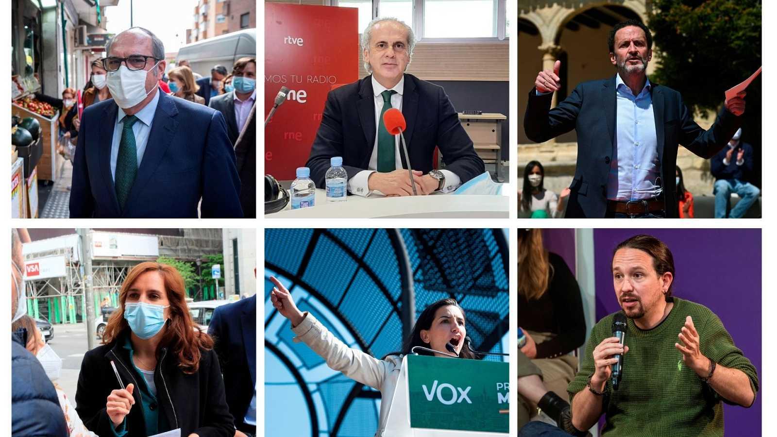 24 horas - La fiscalidad marca la jornada de campaña electoral en Madrid - Escuchar ahora
