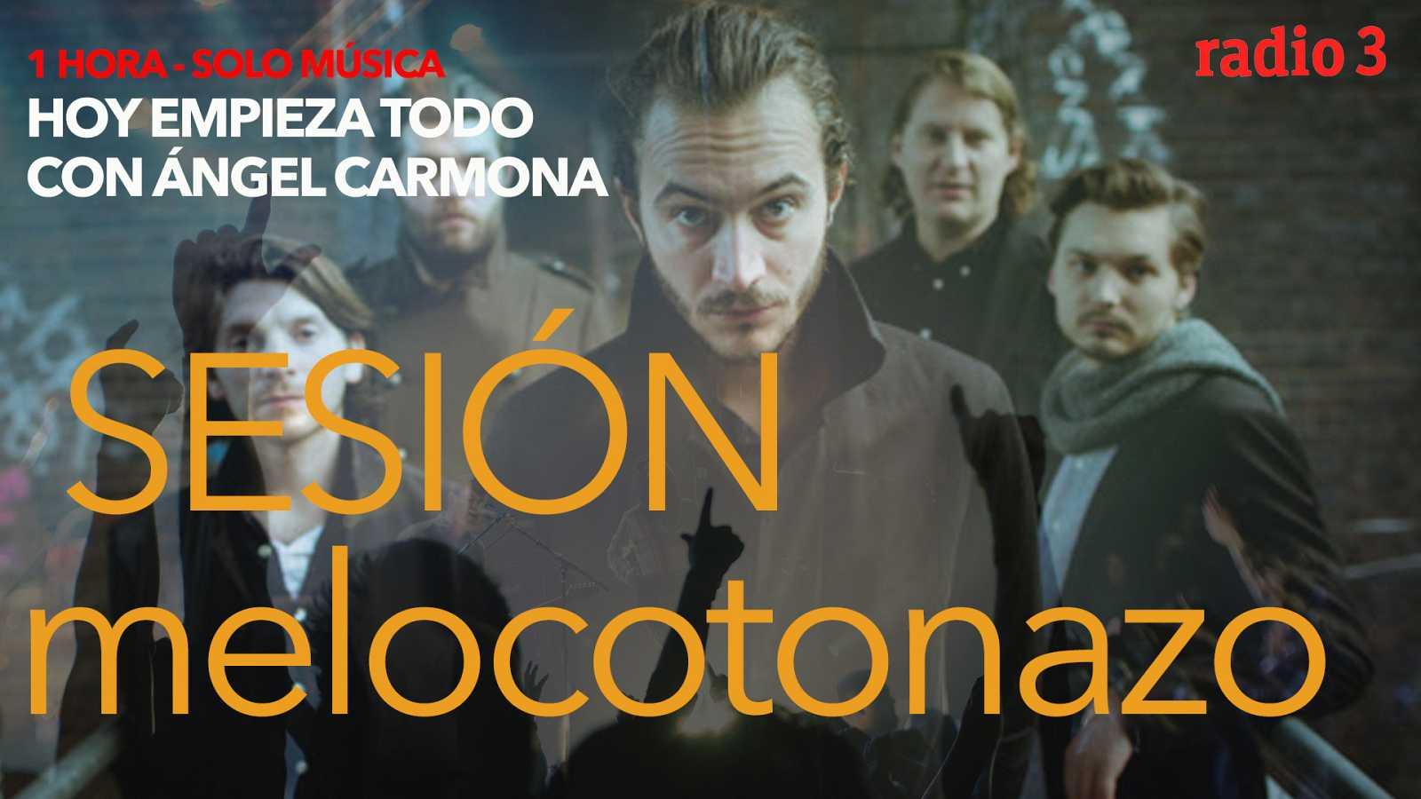 "Hoy empieza todo con Ángel Carmona - ""#SesiónMelocotonazo"": Iggy Pop, Editors, Depeche Mode... - 21/04/21 - escuchar ahora"