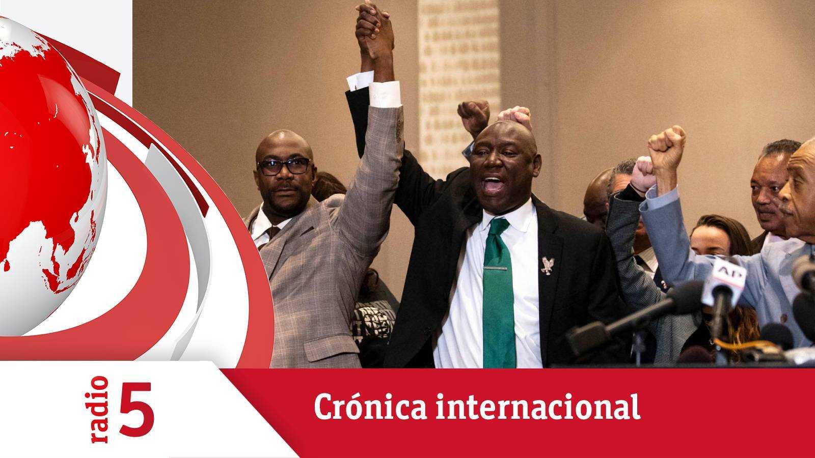 Crónica internacional - El policía acusado de matar a George Floyd, culpable - Escuchar ahora