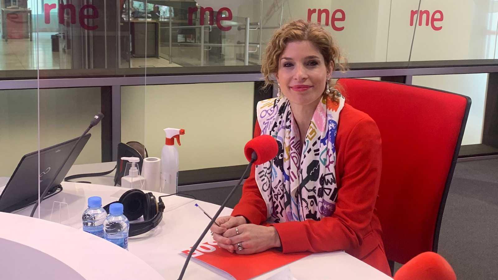 """Madrid Informativos - RNE - Hana Jalloul, PSOE: """"Atacar desde el punto de vista humanitario no es permisible. Son menores"""" - Escuchar ahora"""