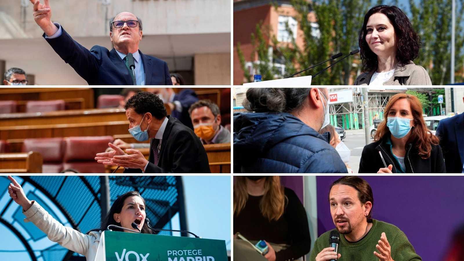 14 horas - Los candidatos preparan el debate en medio del rechazo al cartel de VOX - Escuchar ahora