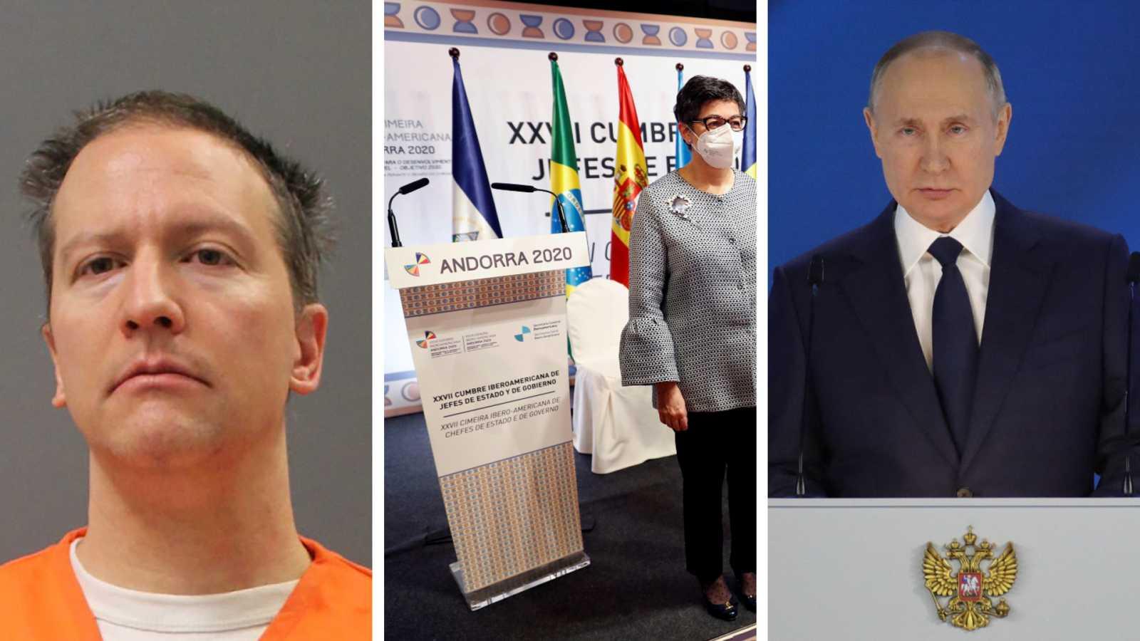 Cinco continentes - Chauvin, culpable de la muerte de Floyd - Escuchar ahora