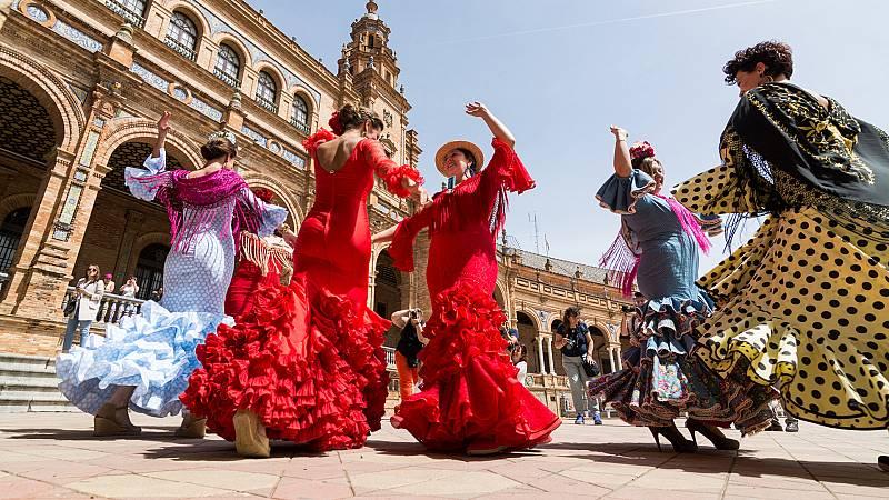 Marca España - El traje de flamenca quiere ser Patrimonio Inmaterial de la Humanidad - 22/04/21